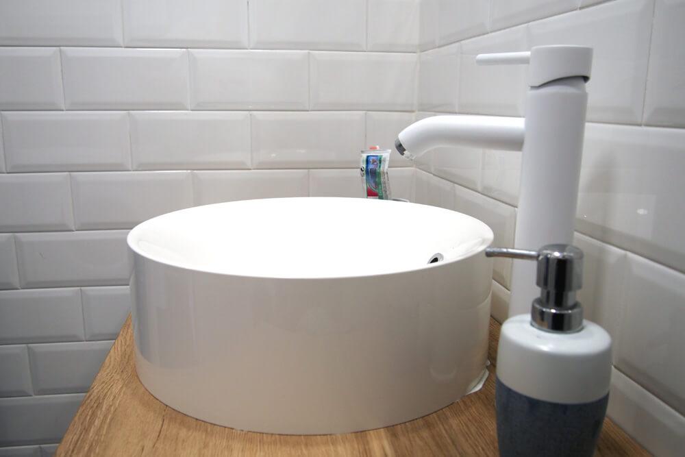 Lavabo baño pequeño