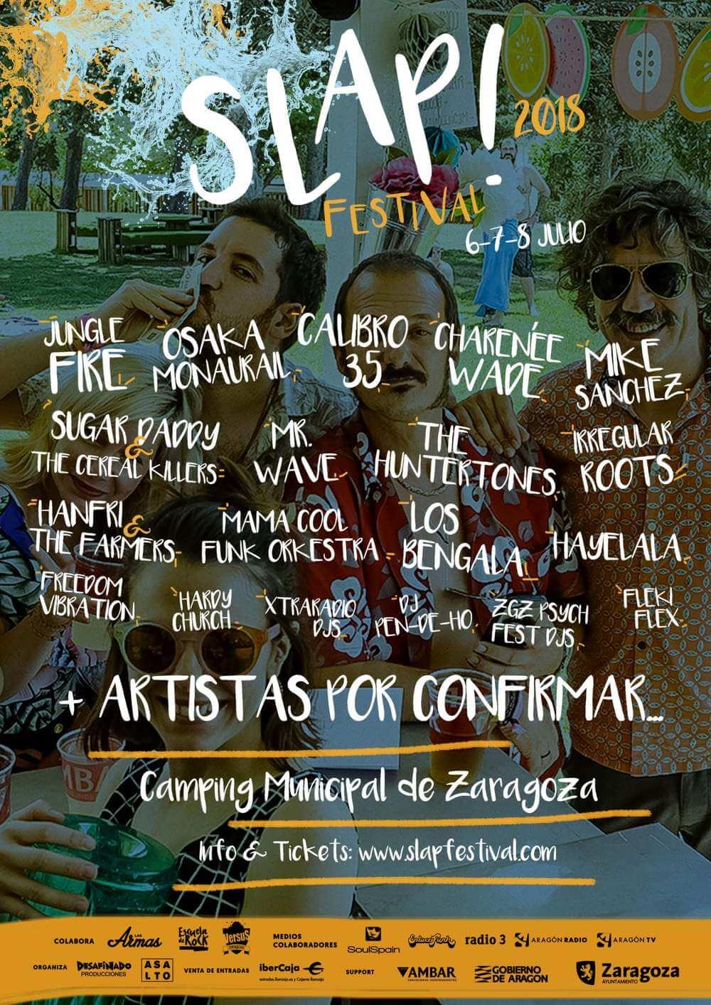 Slap Festival 2018 cartel