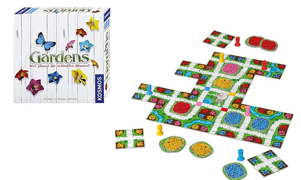 juegos de mesa. Gardens