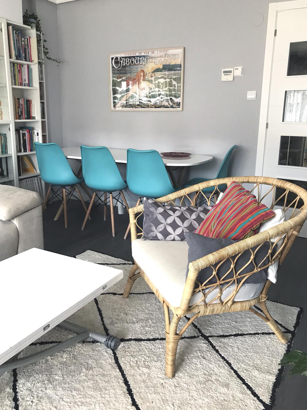 Reforma salon casa