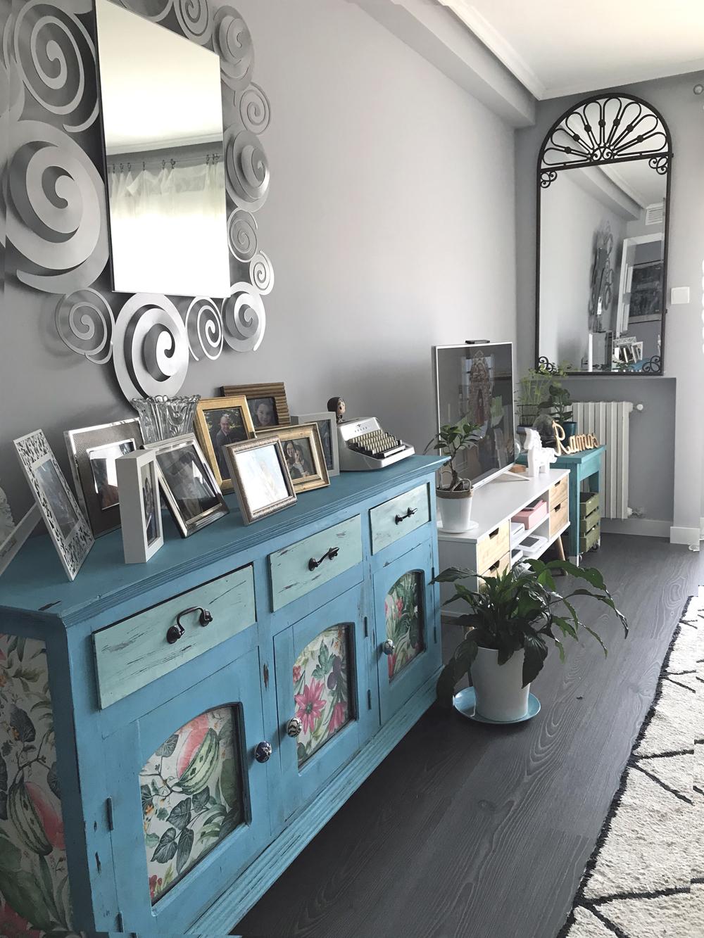 reforma salón casa