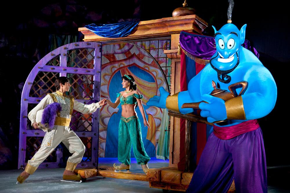 Disney On Ice – Conquista tus sueños Aladdin y Jasmin