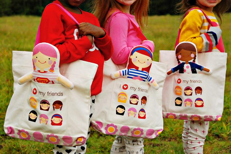 sophie and lili bolsas y muñecas