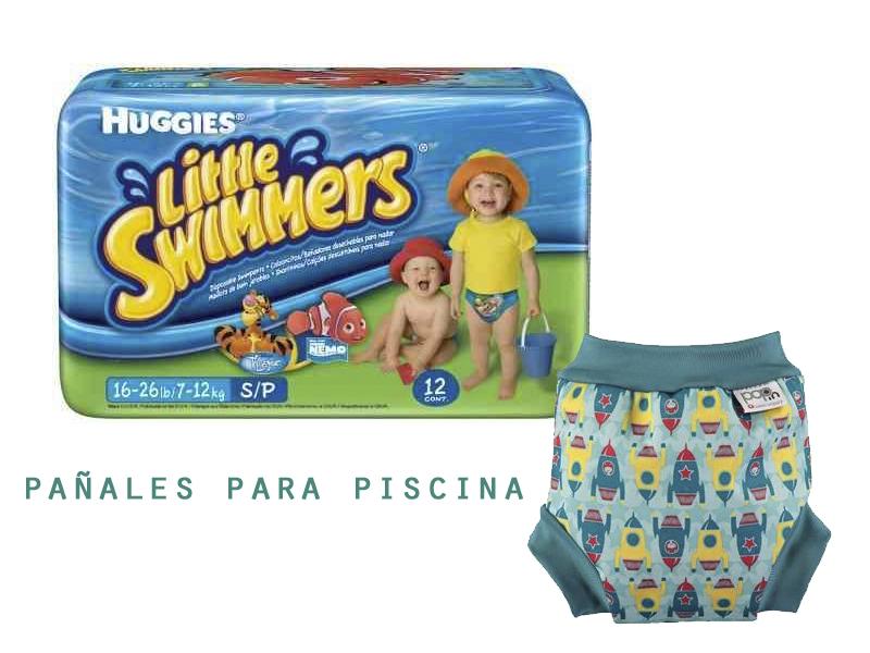 pañales para piscina