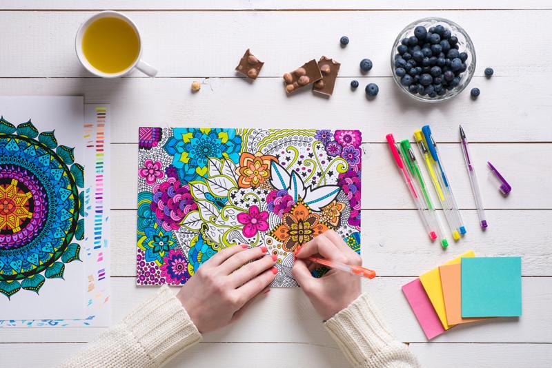 colouring book. Colorterapia