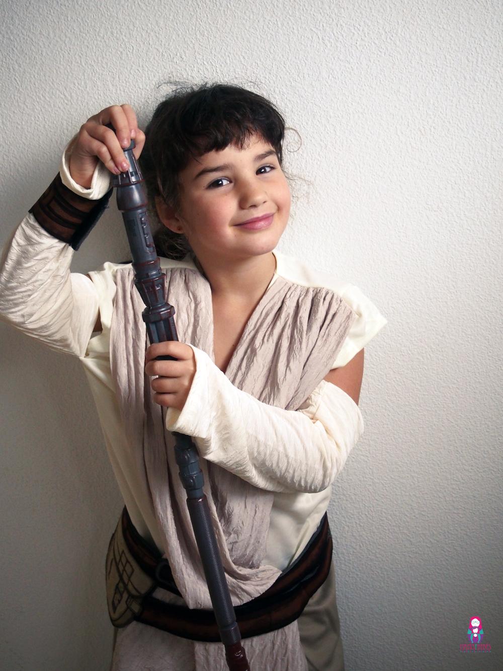 disfraz infantil de Star Wars Rey