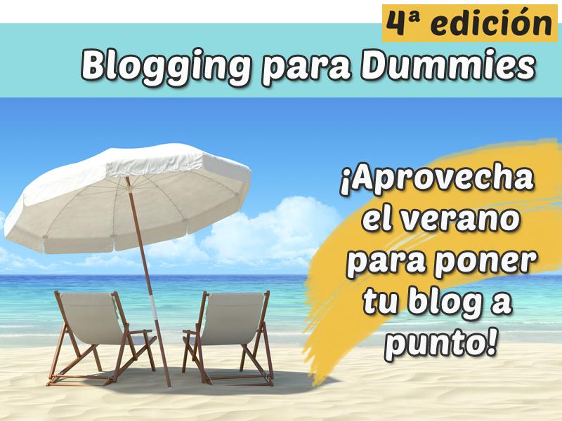 Blogging para dummies 4ª Edición