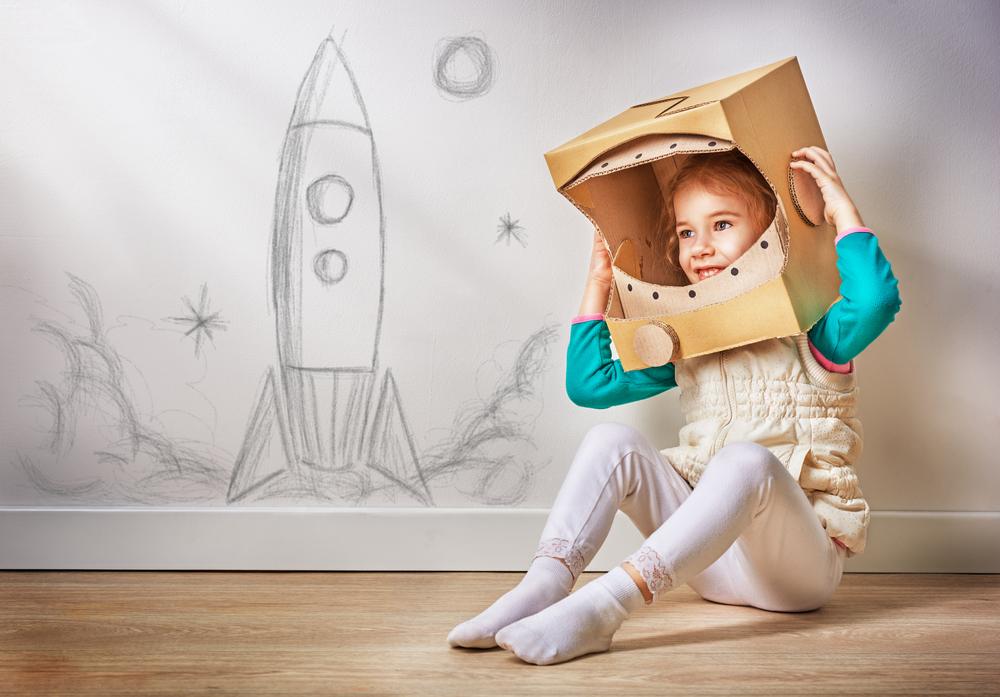 niña astronauta