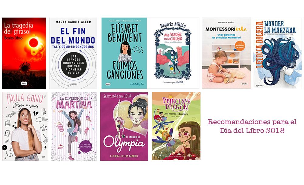 Recomendaciones Día del Libro 2018