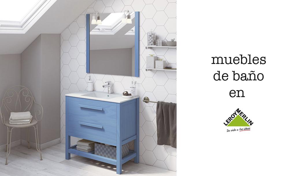 muebles de baño en Leroy Merlin