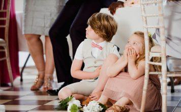 Niños en boda