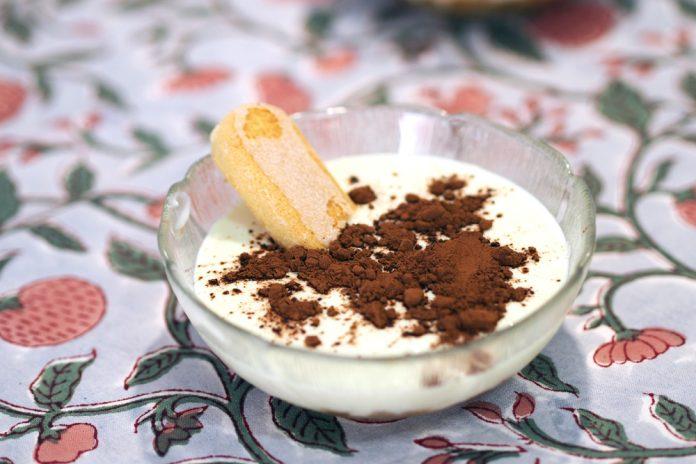 Tiramisú chocolate blanco quescrem 45