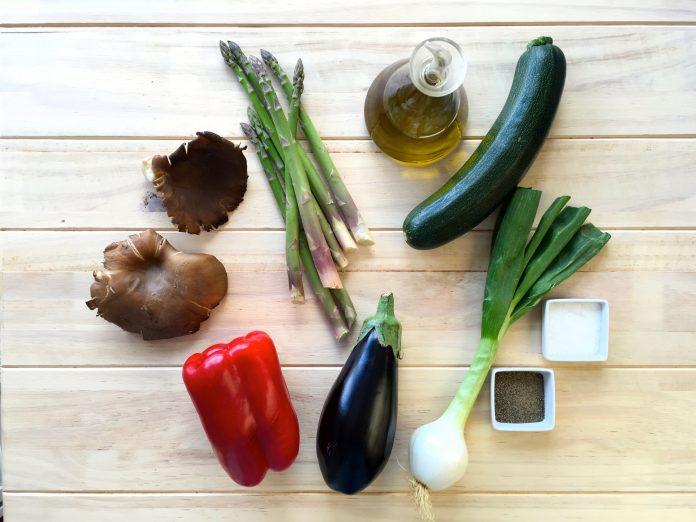 La compra así da gusto parrillada de verduras