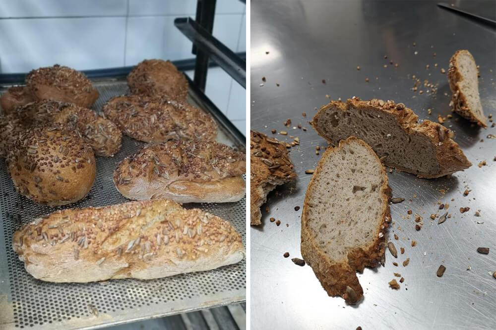 Pan sin gluten en La Mar de Cookies