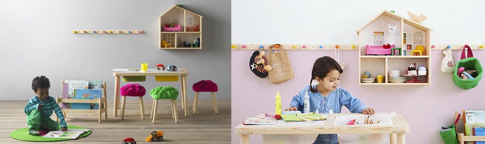 Colección Ikea Flisat