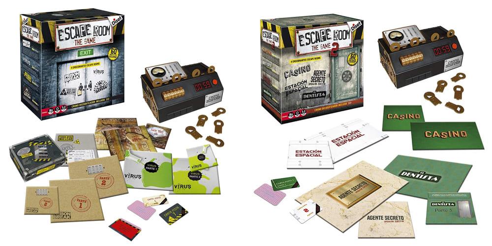 Escape room the game 1 y 2