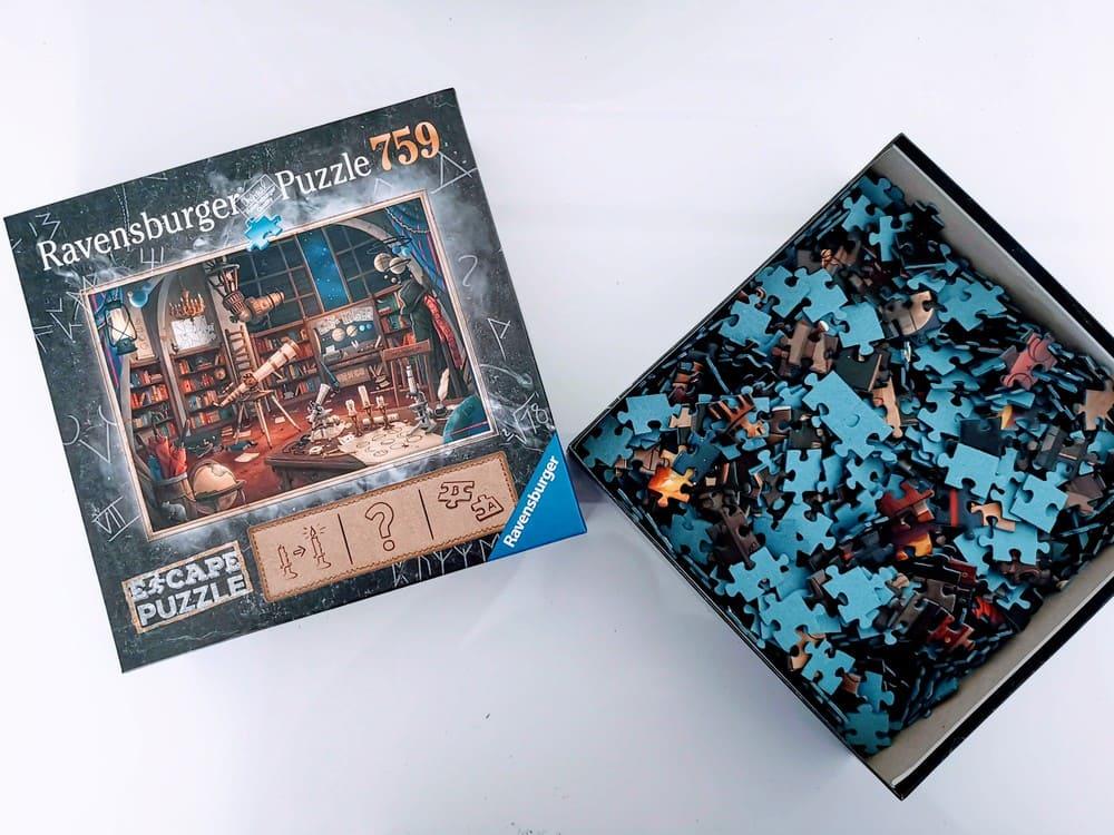 Ravensburger Escape Puzzle El observatorio