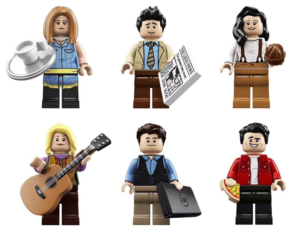 Figuras de Lego Friends la serie de Televisión