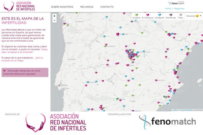 Mapa de la infertilidad